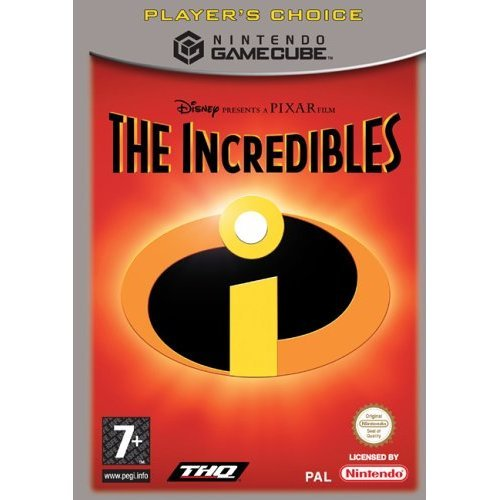 The Incredibles - The Incredibles Players Choice (GameCube)