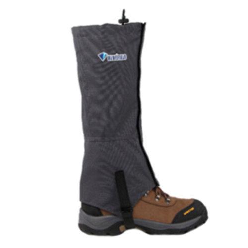 1 Pair Outdoors Windproof Waterproof Shoe Gaiters Boot Gaiters Podothecas(Grey)