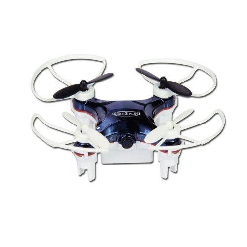 Gear2Play Drone Nano Smart with Camera Toy Remote Control Helicopter TR80525