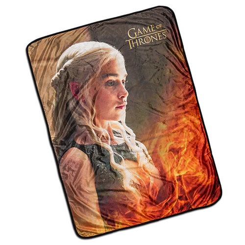 Game of Thrones - Daenerys Throw Blanket Fleece