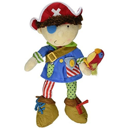 Manhattan Toy Dress Up Pirate Doll for Toddlers