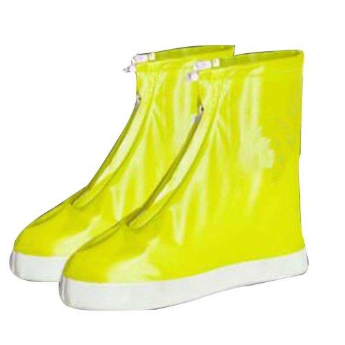 Rain Shoe Cover  Non-slip Wear  Shoe Cover Waterproof [yellow01]