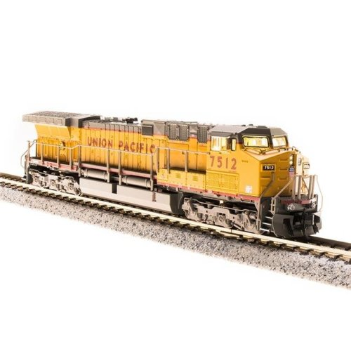Broadway Limited Imports BLI3753 N Scale GE AC6000, UP Yellow & Gray Scheme, Paragon3 Sound, DC & DCC Model Train - No.7562