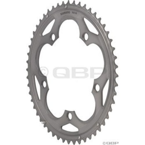 Shimano 105 5700 52t 130mm 10 Speed Chainring Silver