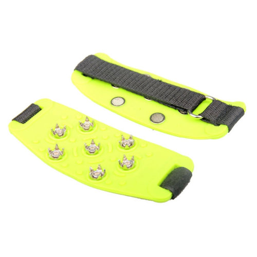 Ultra-light Durable Pro Traction Cleats Anti-Slip Shoe Grips (Yellow)