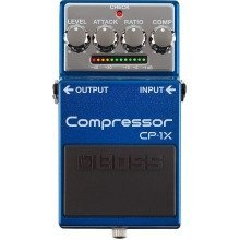 Boss CP-1X Compressor Compact Guitar Effects Pedal