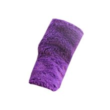 Womans Purple [Glamour] Arm Warmer Winter Mitt Party Driving Wedding Gloves