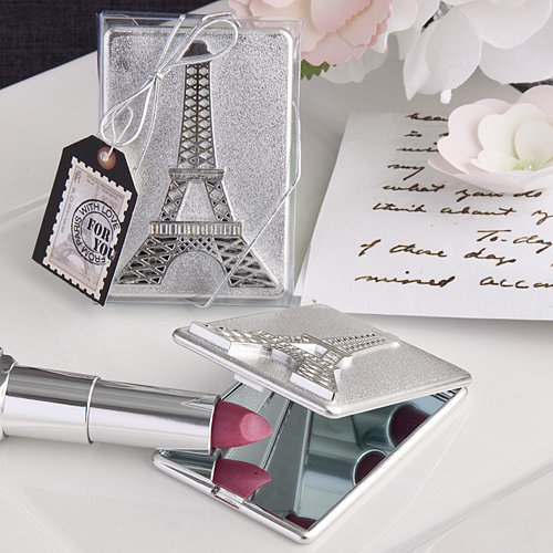 Paris Eiffel Tower Design Mirror Compacts