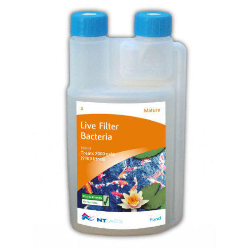 NT Labs Pond Aid Mature Live Filter Bacteria 500ml