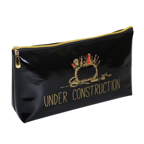 FMG Long Cosmetics Make Up Bag, Under Construction
