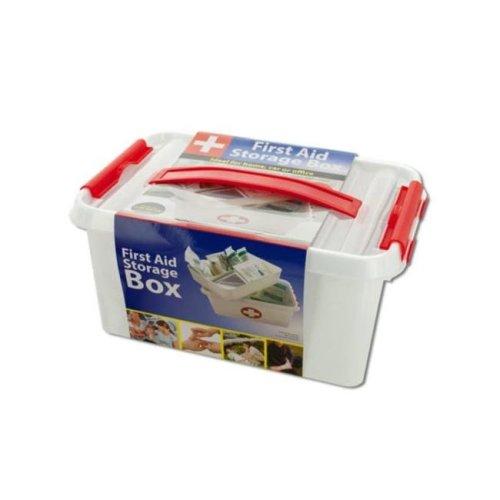 Kole Imports OT565-8 First Aid Storage Box - Pack of 8