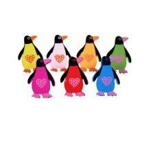 Creative Office Item/Cartoon Penguin Series Pushpins/50 Piece/Random Style