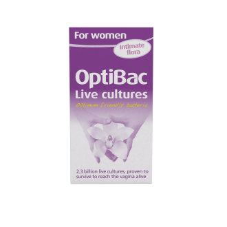 OptiBac Probiotics 'For women', Pack of 90 Capsules