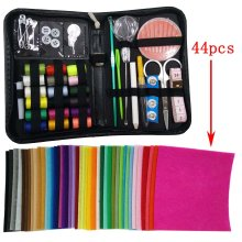 Misscrafts Premium 41 in 1 Sewing Kit + 44pcs 10m*10cm Solid Felt for Home, Compact, Travel and Emergency, Perfect DIY Gift for Beginners Hobby...