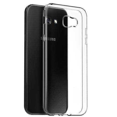 iPro Accessories Galaxy J4 Plus Case, Galaxy J4 Plus Crystal Case, Galaxy J4 Plus Crystal Clear Case, Soft Flexible Thin Gel TPU Skin Scratch-Proof Case Cover