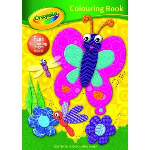 Crayola 48 Page Colouring Book Butterfly