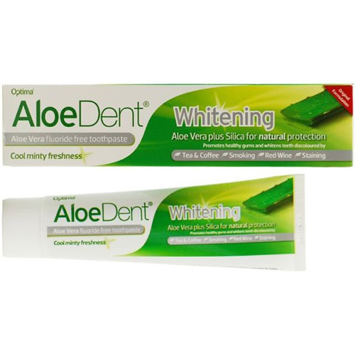 Aloe Dent Whitening Aloe Vera Toothpaste + Silica Mint 100ml