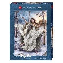 Hy29725 - Heye Puzzles - 1000 Pc - White Dream