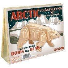 Arctic Construction Kit & Fun Fact Booklet - Boris the Bear