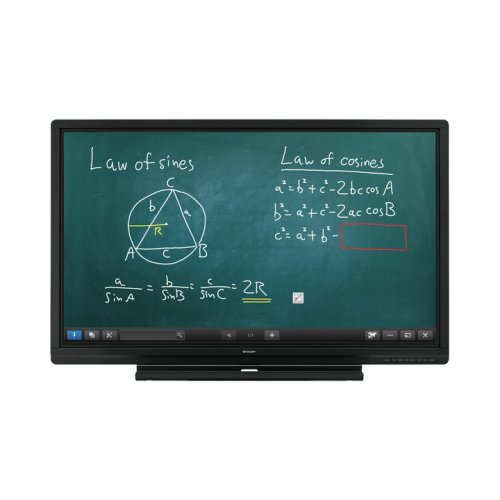Sharp PN-60SC5 60  1920 x 1080pixels Touchscreen Black interactive whiteboard