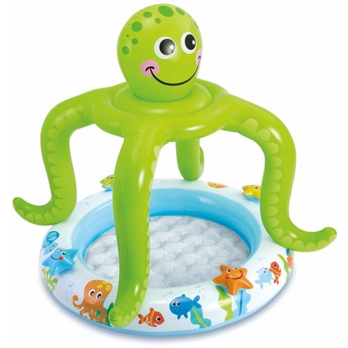 Intex Smiling Octopus Inflatable Paddling Pool | Baby Paddling Pool