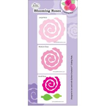 Quilled Creations Quilling Dies-Blooming Roses