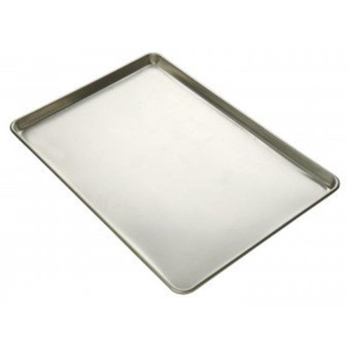 Focus Foodservice 900450 Quarter size sheet pan, 23 Ga aluminized steel- natural finish - Case of 12