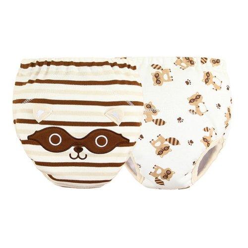 [Raccoon] Baby Toilet Training Pants Nappy Underwear Cloth Diaper 15.4-26.4Lbs