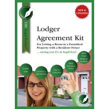 Lodger Agreement Kit, 2019 Edition.