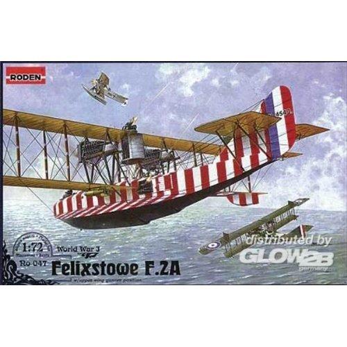 Roden 047Model Kit Felixstowe F.2A W/Upper Wing Gunner Position