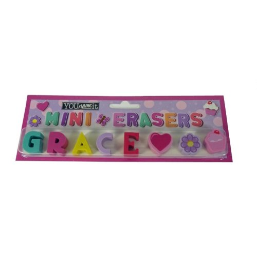 Childrens Mini Erasers - Grace