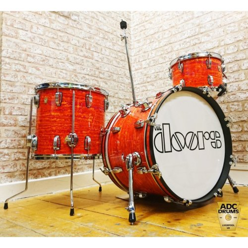 2018 Ludwig Classic Maple Mod Orange Down Beat Drum Kit (12/14/20)