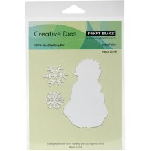 Penny Black Creative Dies-Frosty's Snow