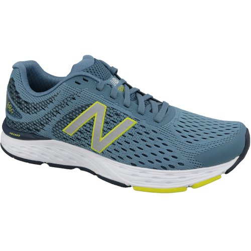New Balance M680CC6 Mens Blue running shoes